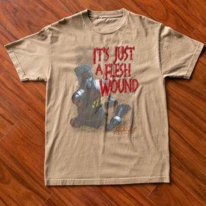Vintage 2005 Monty Python Flesh Wound T-Shirt